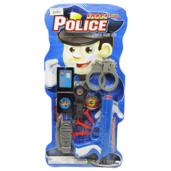 Police Force Action Playset - 9 Pcs