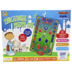 Islamic Educational Prayer Mat