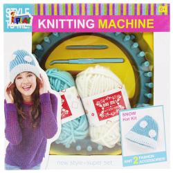 Knitting Machine - Yellow Color