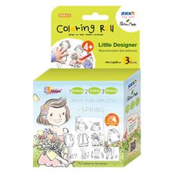 Little Designer Coloring Roll - Spring