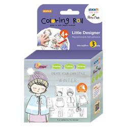 Little Designer Coloring Roll - Winter