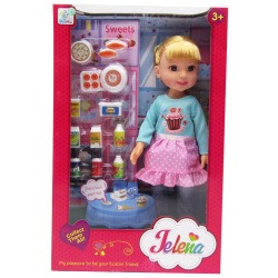 My Lucky Doll With Supermarket Set