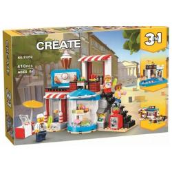 Create 3 In1 Building Blocks - 410 pcs