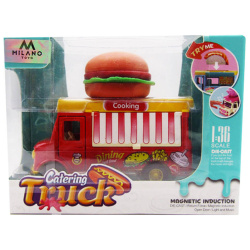 Die-Cast Food Truck 1:36 With Light & Sound - Burger