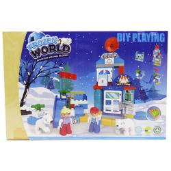 Frozen World Building Blocks - 64 pcs