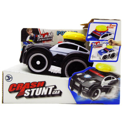 Crash Stunt Car With Light & Soound - Police