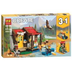Create 3 In1 Building Blocks - 315 pcs