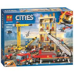 Cities Fire Rescue Building Blocks - 985 Pcs