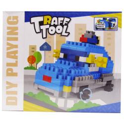 Police Car Building Blocks - 174 Pcs
