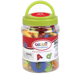 Letters And Numbers Jar - 45 PCS