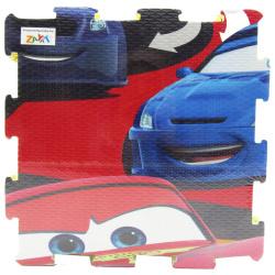 Cars McQueen Puzzle Mat - 9 Pcs
