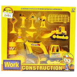 Work Construction Set - 11 Pcs