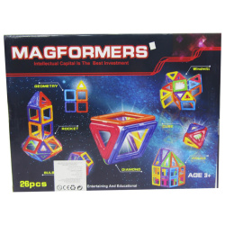 Magformers Magnetic Building Blocks - 26Pcs