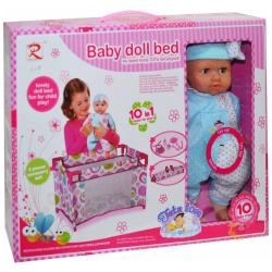 Baby Doll Bed Play Set