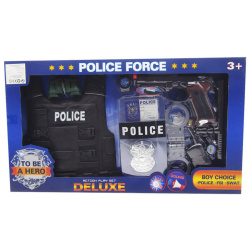 Miltary Action Play Set With Lights & Sounds - 11 Pcs