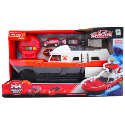 Special Services-Fire Boat Playset 1:64 With Lights & Sounds