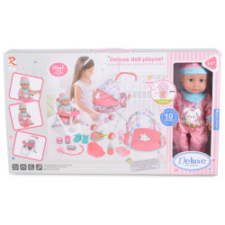 16 in 1 Deluxe Doll Playset With 10 Different Sounds