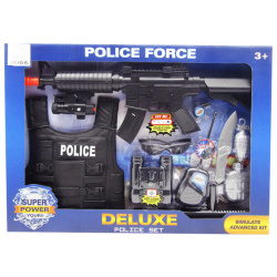 Miltary Action Play Set With Lights & Sounds - 10 Pcs
