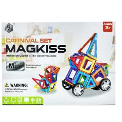 Mini Magnetic Building Blocks - 36 Pcs