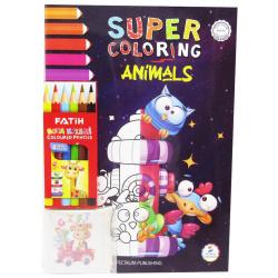 Coloring Books - Animals