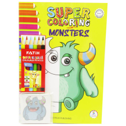 Coloring Books - Monsters
