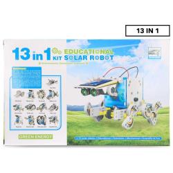 13IN1 Solar Power Energy Robot