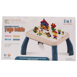 3IN1 Educational Learning Building Blocks Table