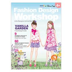 Little Designer Activity Book - Vanilla Garden