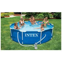 Small Round Metal Frame Swimming Pool (3.05m x 76cm)