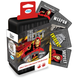 The Heist Mystery Cards Game