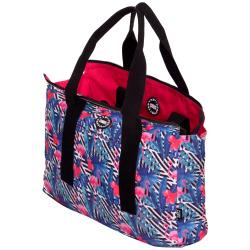 Tote Double Face Handbag - Bahamas / Hot Pink