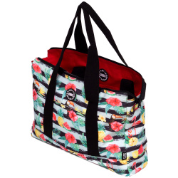 Tote Double Face Handbag - Aloha / Hot Pink
