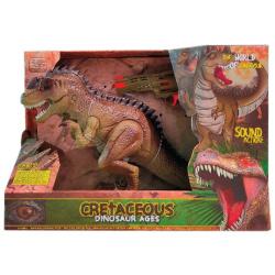 Cretaceous Dinosaur With Light & Sound