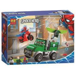 Spiderman Building Blocks - 111 Pcs