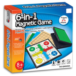 6 In1 Magnetic Game