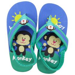 Flip Flop - Monkey - Green