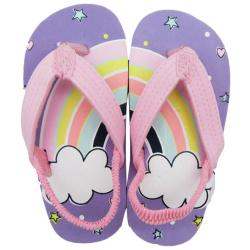 Flip Flop -  Rainbow - Purple