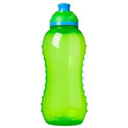 Hydrate Twist N Sip Squeeze Water Bottle - 460ML - Green