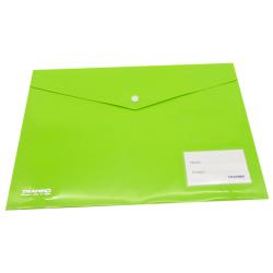 A4 Tranbo Capsule Envelope File - Green