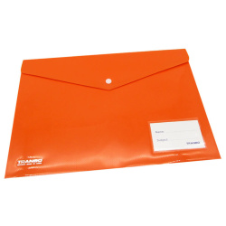 A4 Tranbo Capsule Envelope File - Orange