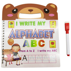 Small Educational Book With Marker - Alphabet