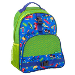 All Over Print 16 Inch Backpack - Transportation