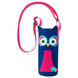 Neoprene Bottle Holder - Owl
