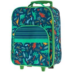 Rolling Luggage 18 Inch Trolley Bag - Dinosaur