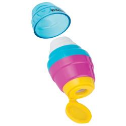 2 In 1 Serve Bobo Eraser & Sharpener - Random Color