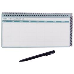 Weekly Scheduler With Ballpoint Pen