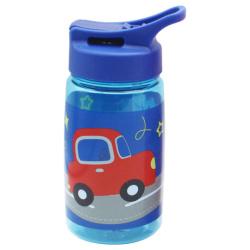 Tritan Water Bottle 450ML With Straw - Car