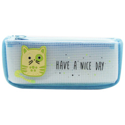 Pencil Case - Have a Nice Day - Blue