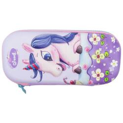 Pencil Case - Unicorn - Purple