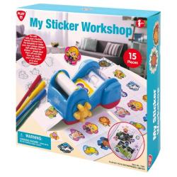 My Sticker Work Shop - 15 Pcs